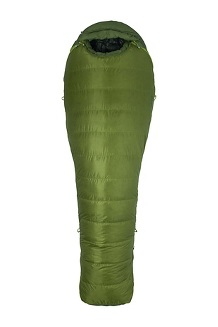 Never Winter 30 Sleeping Bag, Cilantro/Tree Green, medium