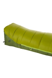 Never Winter 30° Sleeping Bag, Cilantro/Tree Green, medium