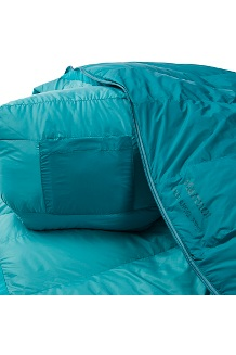 Women's Angel Fire 25° Sleeping Bag, Malachite/Deep Teal, medium