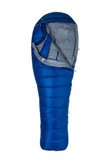 Sawtooth 15° Sleeping Bag - Long X Wide, Surf/Arctic Navy, medium