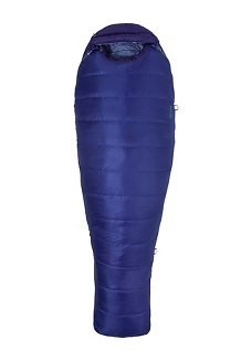 Women's Ouray 0 Sleeping Bag - Long, Electric Purple/Royal Grape, medium
