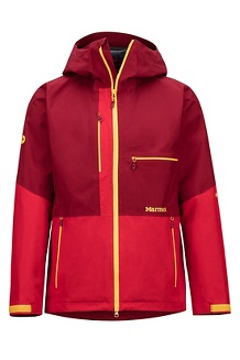 Men's Cropp River Jacket, Brick/Team Red, medium