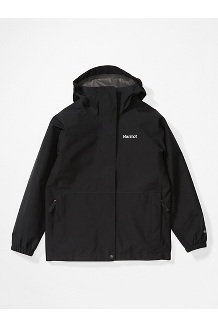 Boys' Minimalist Jacket, Black, medium