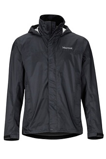 Men's PreCip Eco Jacket - Big and Tall, Black, medium