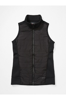 Women's Denare Insulated Vest, Black, medium