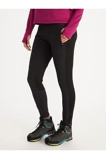Women's Kluane Hybrid Tights, Black, medium