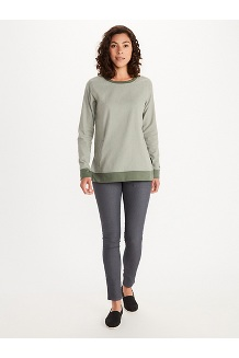 Women's Rosthern Midweight Pullover, Dark Steel Heather, medium