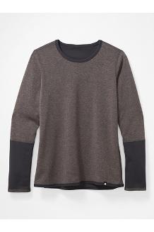 Women's Camsel Reversible Long-Sleeve Shirt, Dark Steel, medium