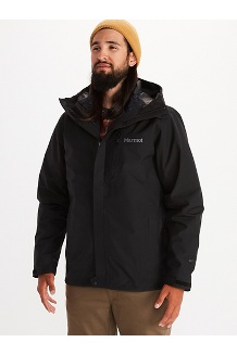 Men's Minimalist Component 3-in-1 Jacket, Black, medium