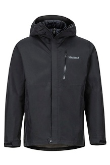 Minimalist Component Jacket, Black, medium