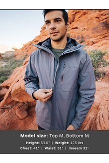 Men's Minimalist Component 3-in-1 Jacket, Steel Onyx, medium