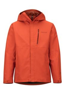 Minimalist Component Jacket, Orange Haze, medium