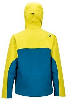 Men's Spire Jacket, Citronelle/Moroccan Blue, medium