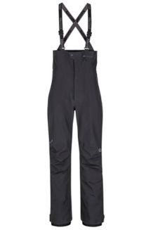 Spire Bib Snow Pants, Black, medium