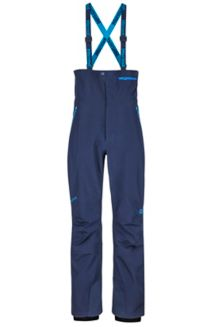 Spire Bib Snow Pants, Arctic Navy, medium