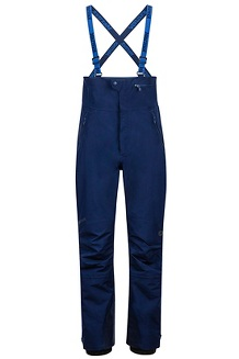 Men's Spire Bib Snow Pants, Arctic Navy/Arctic Navy, medium