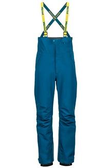 Men's Spire Bib Snow Pants, Moroccan Blue, medium