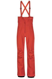 Spire Bib Snow Pants, Dark Rust, medium
