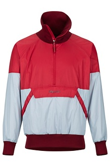 Lynx DriClime Anorak, Team Red/Celestial Blue, medium