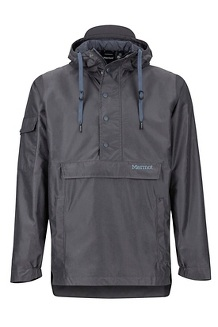 Men's Bennu EVODry Anorak, Dark Steel, medium