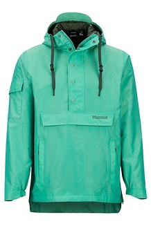Men's Bennu EVODry Anorak, Pond Green, medium