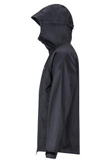 Men's PreCip Stretch Jacket, Black, medium