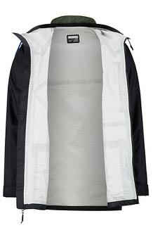 Men's Ashbury PreCip Eco Jacket, Black/Crocodile, medium