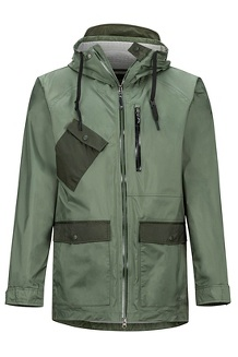 Men's Ashbury PreCip Eco Jacket, Crocodile/Rosin Green, medium
