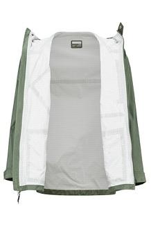 Men's Ashbury PreCip Eco Jacket, Crocodile/Rosin Green, medium