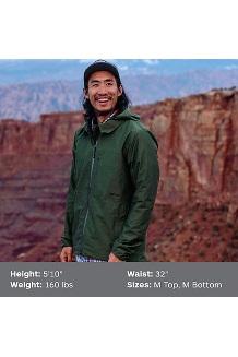 Men's Parkes EVODry Jacket, Crocodile, medium
