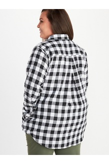 Women's Nicolet Lightweight Long-Sleeve Flannel Shirt Plus, Dream State, medium