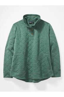 Women's Roice Long-Sleeve Pullover Plus, Botanical Garden Heather, medium