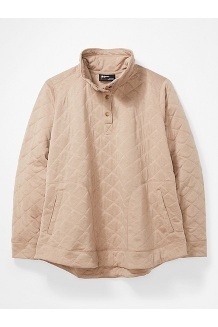 Women's Roice Long-Sleeve Pullover Plus, Sea Salt Heather, medium