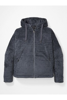 Women's Avens Fleece Hoody Plus, Steel Onyx, medium