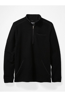 Men's Ryerson ½-Zip Fleece Pullover, Black, medium
