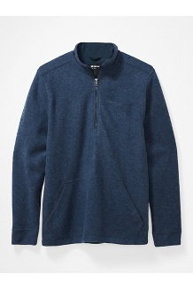 Men's Ryerson ½-Zip Fleece Pullover, Dark Indigo Heather, medium