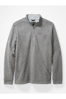 Men's Ryerson ½-Zip Fleece Pullover, Sleet Heather, medium