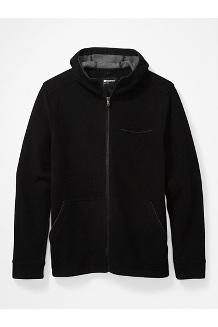 Men's Ryerson Fleece Hoody, Black, medium