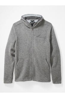 Men's Ryerson Fleece Hoody, Sleet Heather, medium
