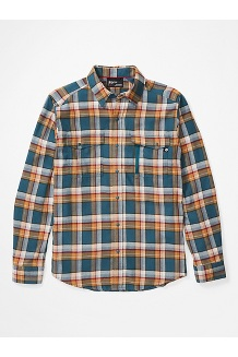 Men's Tromso Midweight Long-Sleeve Flannel Shirt, Stargazer, medium