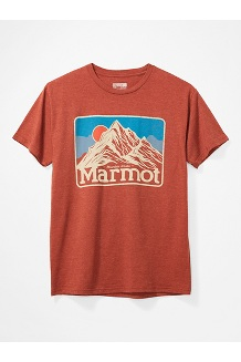 Men's Mountain Peaks Short-Sleeve T-Shirt, Picante Heather, medium