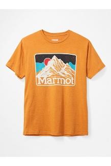 Men's Mountain Peaks Short-Sleeve T-Shirt, Aztec Gold Heather, medium