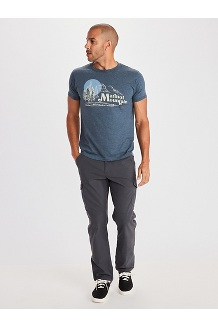 Men's Redpoint Short-Sleeve T-Shirt, Charcoal Heather, medium