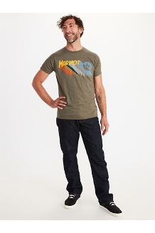 Men's Radical Short-Sleeve T-Shirt, Olive Heather, medium