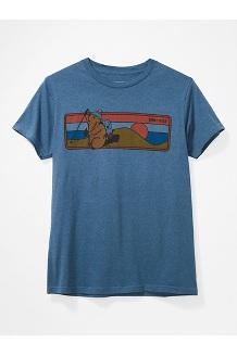 Men's Hiking Marty Short-Sleeve T-Shirt, Stargazer Heather, medium