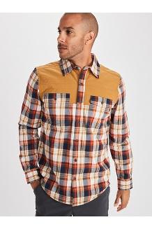Men's Needle Peak Midweight Flannel Shirt, Scotch, medium