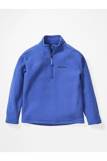Boys' Rocklin 1/2 Zip Jacket, Royal Night, medium