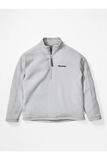 Boys' Rocklin 1/2 Zip Jacket, Sleet, medium