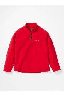 Boys' Rocklin 1/2 Zip Jacket, Team Red, medium