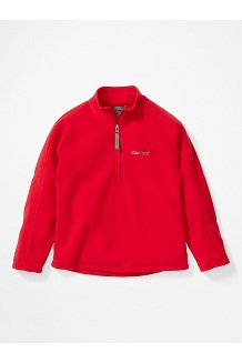 Boys' Rocklin 1/2 Zip Jacket, Team Red, medium